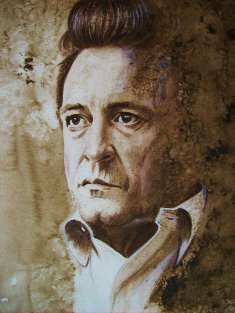 Johnny Cash by Tom-Heyburn